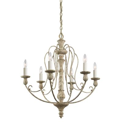 Kichler Lighting 43257DAW Chandelier 6Lt
