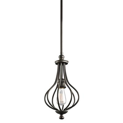 Kichler Lighting 43333OZ Mini Pendant 1Lt