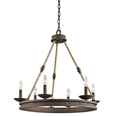 Kichler Lighting 43423OZ CLEARANCE SALE - Kearn™ 6 Light Chandelier Olde Bronze®