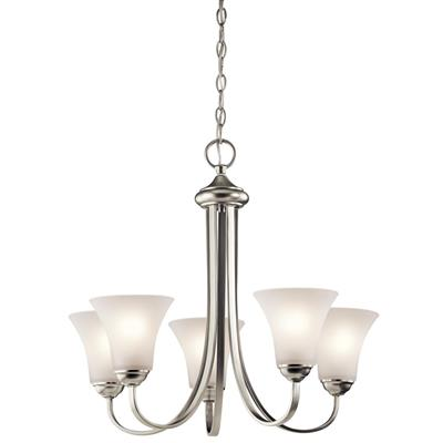 Kichler Lighting 43503NI Keiran™ 3 Light Chandelier Brushed Nickel