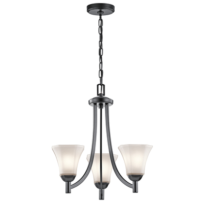 Kichler Lighting 43630BK Chandelier 3Lt
