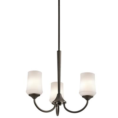 Kichler Lighting 43664OZ Aubrey™ 3 Light Chandelier Olde Bronze®