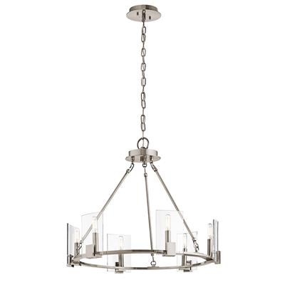 Kichler Lighting 43701CLP CLEARANCE SALE - Signata™ 6 Light Chandelier Classic Pewter