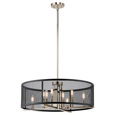Kichler Lighting 43715PN Chandelier/Pendant 8Lt