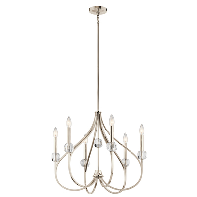Kichler Lighting 43720PN Chandelier 6Lt