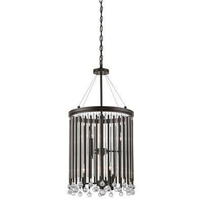Kichler Lighting 43724ESP Foyer Chandelier 6Lt