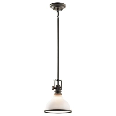 Kichler Lighting 43764OZ Hatteras Bay™ 1 Light Mini Pendant Olde Bronze®