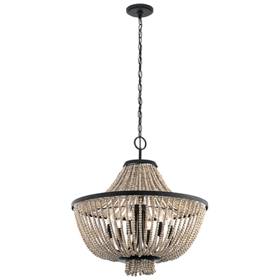 Kichler Lighting 43891DBK Chandelier 6Lt