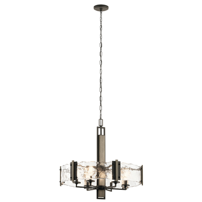 Kichler Lighting 43895OZ Aberdeen 6 Light Chandelier Olde Bronze®