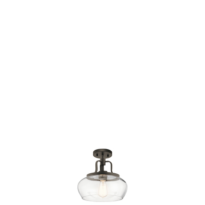 Kichler Lighting 43903OZ Pendant/Semi Flush 1Lt