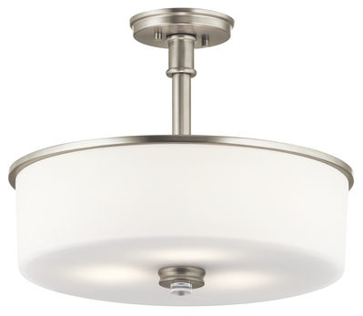 Kichler Lighting 43925NI Pendant/Semi Flush 3Lt
