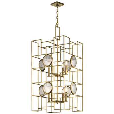 Kichler Lighting 43935NBR Foyer Chandelier 8Lt