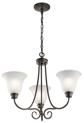 Kichler Lighting 43937OZ Chandelier 3Lt