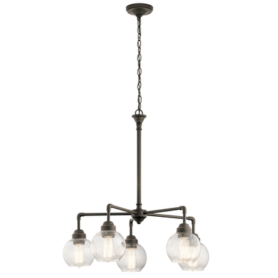 Kichler Lighting 43993OZ Niles 5 Light Chandelier Olde Bronze®