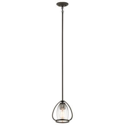 Kichler Lighting 44058OZ Tuscany 1 Light Mini Pendant Olde Bronze®