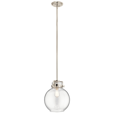 Kichler Lighting 44141PN Briar 1 Light Pendant Polished Nickel