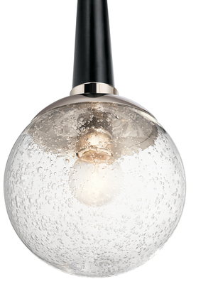 Kichler Lighting 44270PN Marilyn 1 Light Pendant Polished Nickel