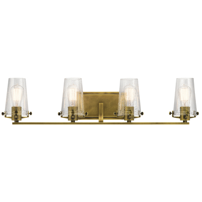 Kichler Lighting 45298NBR Alton 4 Light Vanity Light Natural Brass