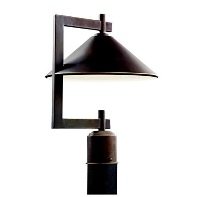 Kichler Lighting 49063OZ Outdoor Post Mt 1Lt
