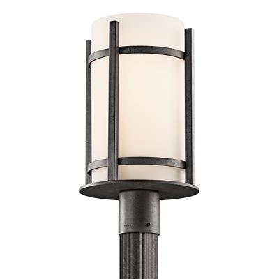 Kichler Lighting 49123AVI Outdoor Post Mt 1Lt