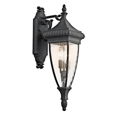 Kichler Lighting 49131BKG Outdoor Wall 2Lt