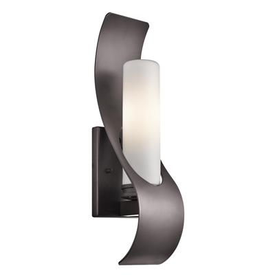 Kichler Lighting 49149AZ Zolder™ 1 Light Halogen Wall Light - Architectural Bronze