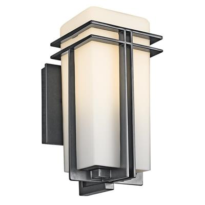 Kichler Lighting 49200BK Outdoor Wall 1Lt