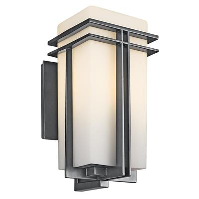 Kichler Lighting 49202BK Tremillo Outdoor Wall - Black
