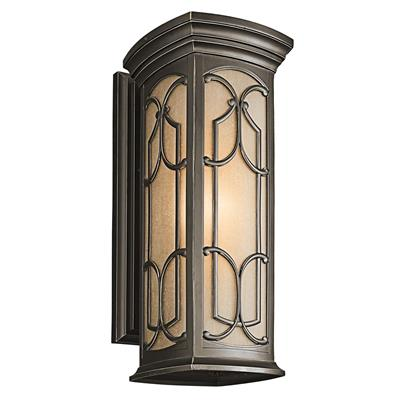 Kichler Lighting 49228OZ Franceasi Outdoor Wall 1Lt