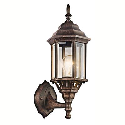 "Kichler Lighting 49255TZ Chesapeake™ 17"" 1 Light Wall Light Tannery Bronze™"