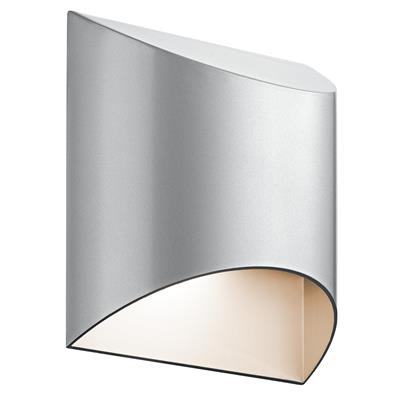 Kichler Lighting 49278PLLED Wesley 1 Light LED Wall Light Platinum