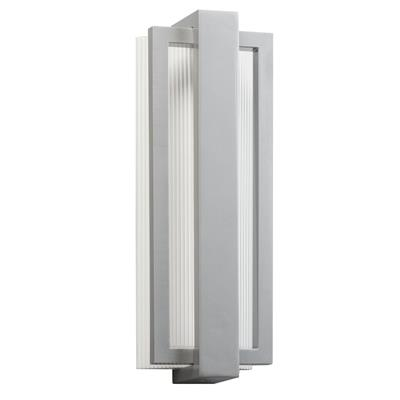 "Kichler Lighting 49434PL Sedo™ 18.25"" LED Wall Light Platinum"
