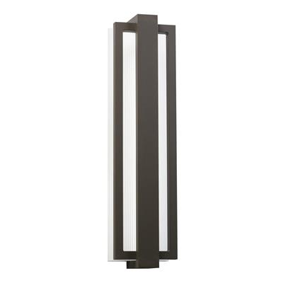 "Kichler Lighting 49435AZ Sedo™ 24.25"" Wall Light Sconce Architectural Bronze"