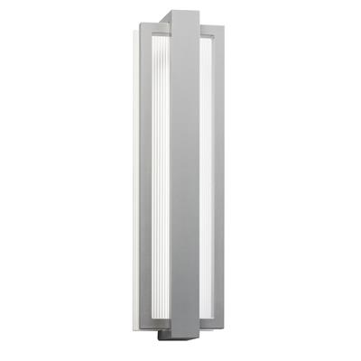 "Kichler Lighting 49435PL Sedo™ 24.25"" Wall Light Platinum"