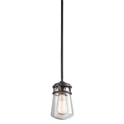 Kichler Lighting 49446AZ Outdoor Pendant 1Lt