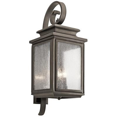 "Kichler Lighting 49504OZ Wiscombe Park™ 30.5"" 4 Light Wall Light Olde Bronze®"