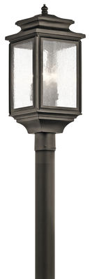 Kichler Lighting 49506OZ Wiscombe Park™ 4 Light Post - Olde Bronze