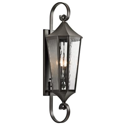Kichler Lighting 49514OZ Rochdale™ 4 Light Wall Light Olde Bronze