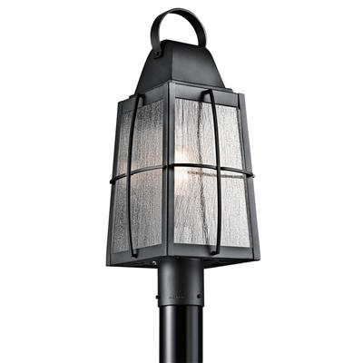 Kichler Lighting 49555BKT Tolerand™ 1 Light Post Light Textured Black