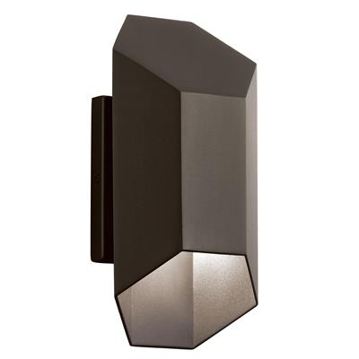 Kichler Lighting 49608AZTLED Outdoor Wall 2Lt LED