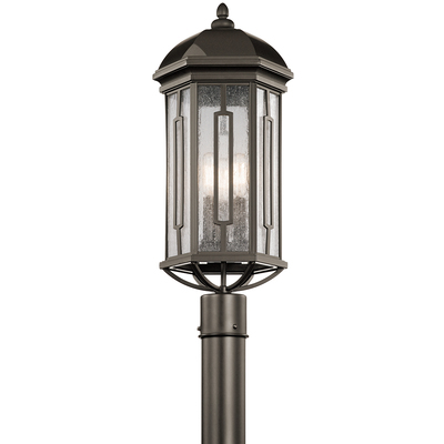 Kichler Lighting 49712OZ Outdoor Post Mt. 3Lt