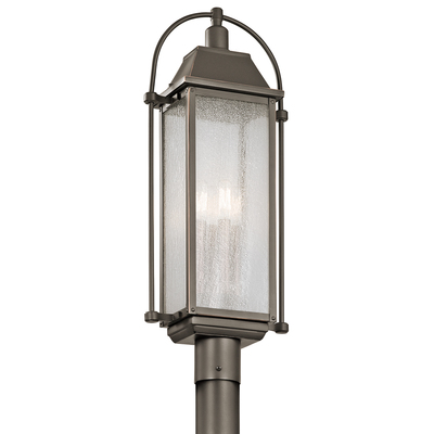 Kichler Lighting 49717OZ Outdoor Post Mt. 4Lt