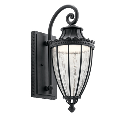 Kichler Lighting 49752BKTLED Outdoor Wall 1Lt LED