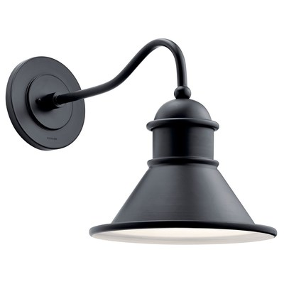 Kichler Lighting 49776BK Outdoor Wall 1Lt