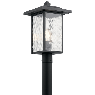 Kichler Lighting 49927BKT Outdoor Post Mt 1Lt