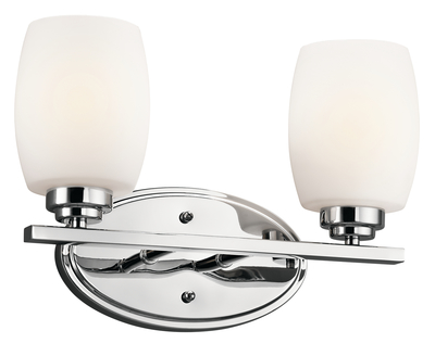 Kichler Lighting 5097CH Bath 2Lt