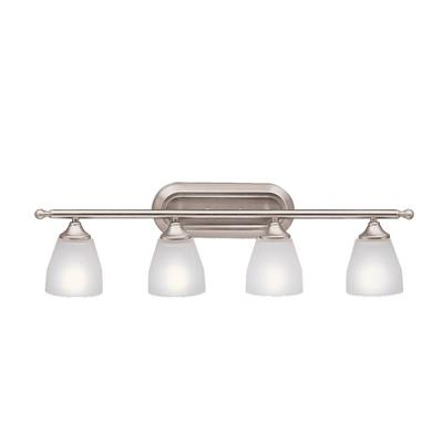 Kichler Lighting 5449NI Ansonia™ 4 Light Vanity Light Brushed Nickel