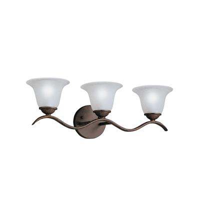 Kichler Lighting 6323TZ Dover™ 3 Light Vanity Light Tannery Bronze™