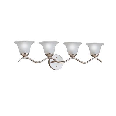 Kichler Lighting 6324NI Dover™ 4 Light Vanity Light Brushed Nickel