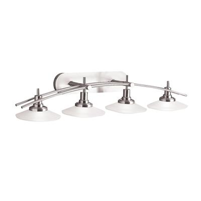 Kichler Lighting 6464NI Bath 4Lt Halogen